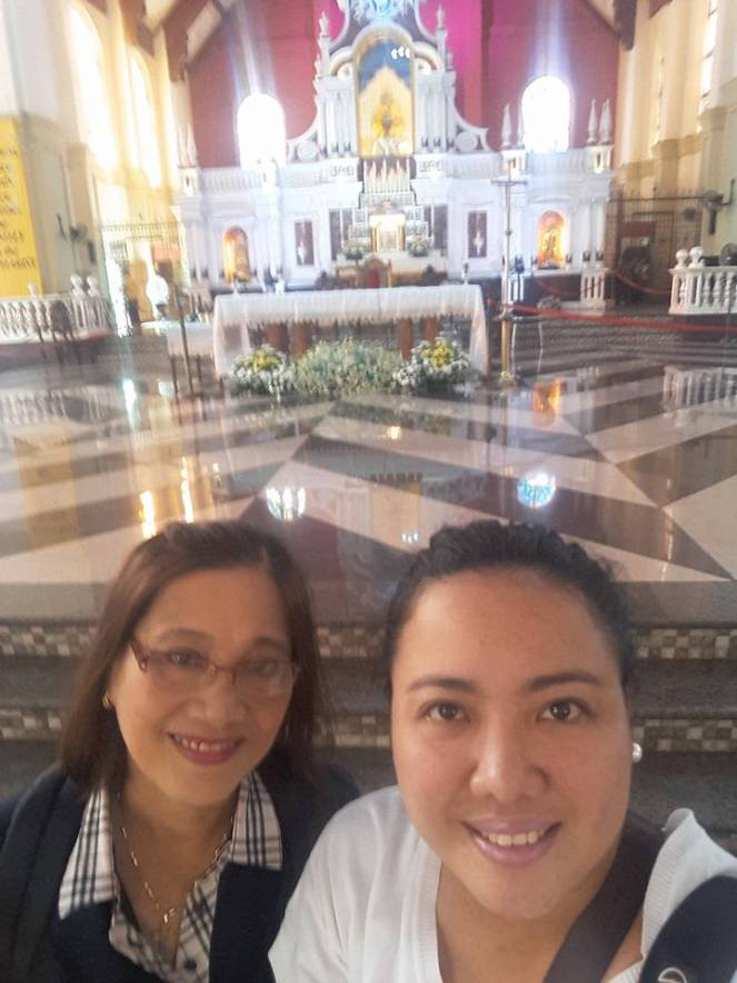 My most recent trip with mom in Naga City, Bicol in the Philippines last September 2016