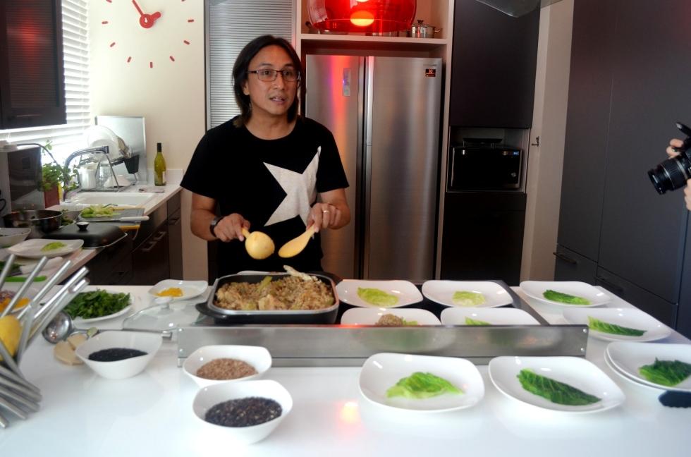 Chef Rolando Laudico, one of the most recognizable names in the local culinary scene