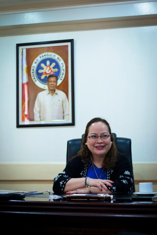 Health Secretary Dr. Paulyn Jean B. Rosell-Ubial (Photo by Ramir G. Cambiado)